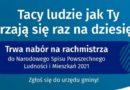 Ogłoszenie o naborze kandydatów na rachmistrzów spisowych.