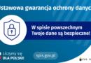 Plakat promujący spis